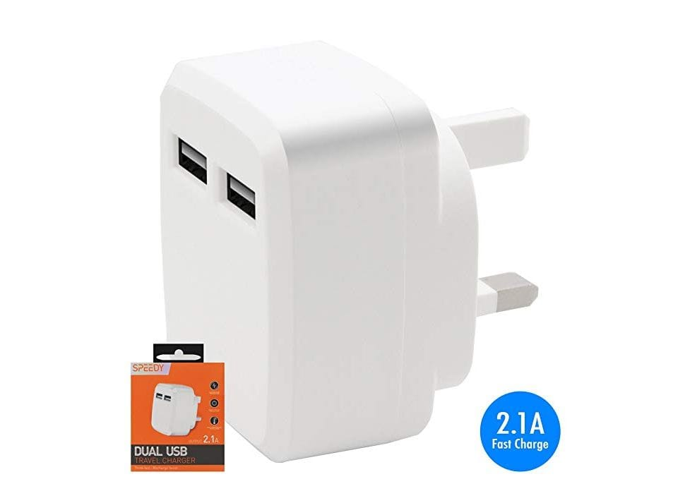 Dual USB Fast Charger 2.1A