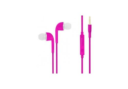 In Ear Handsfree - Pink