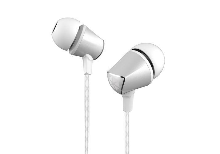 In Ear Handsfree - White