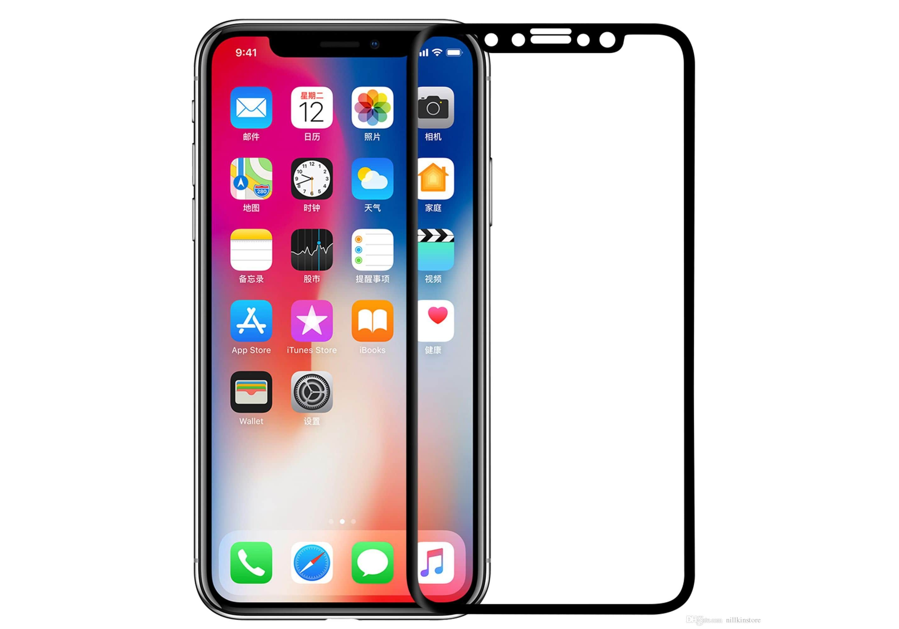 iPhone X 3D Curved Screen Protector