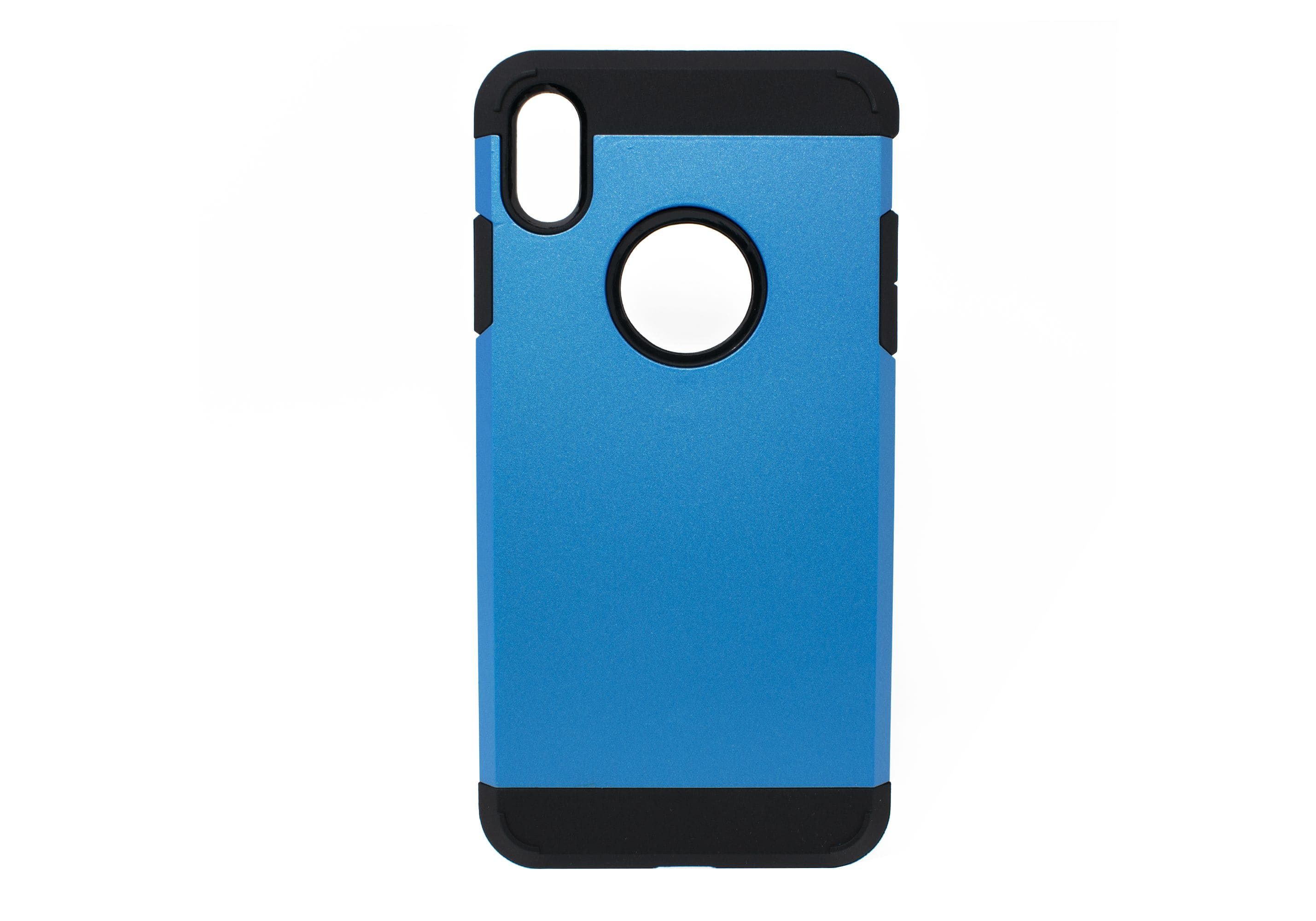iPhone XS Max Shield Back Cover Black And Blue