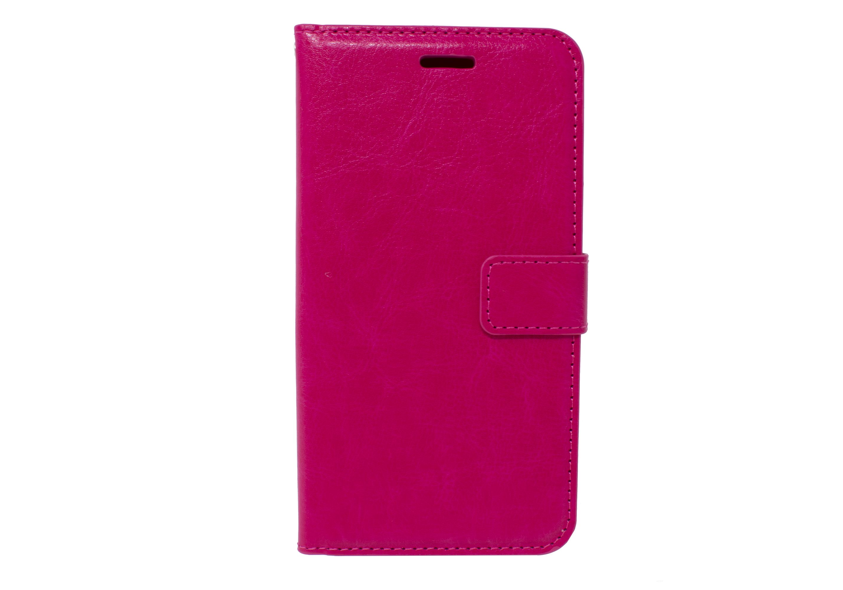 iPhone X Book Wallet Case - Pink