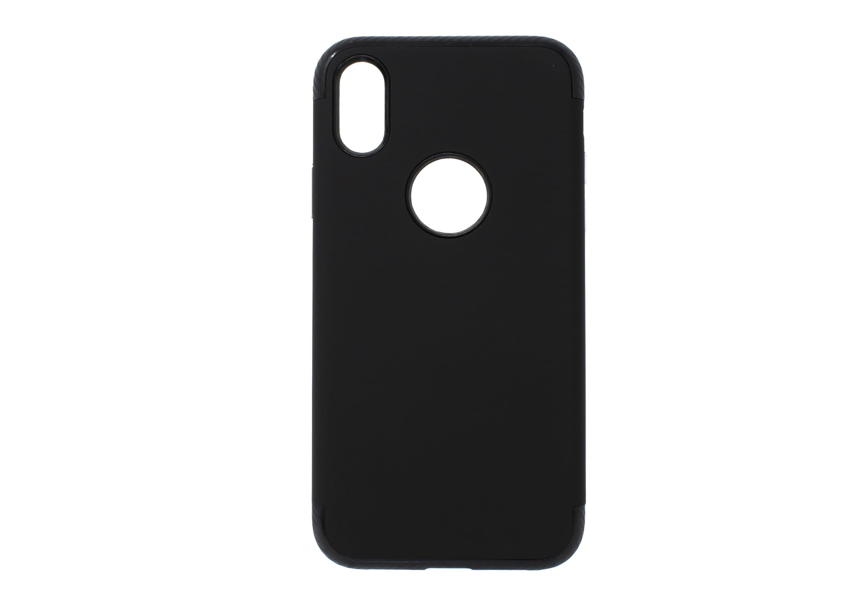 iPhone X Black Armour Hard Case