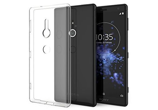 Sony Xperia XZ2 Thin TPU Gel - Clear