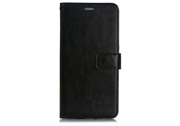 Sony Xperia XZ Premium PU Leather Wallet Case - Black